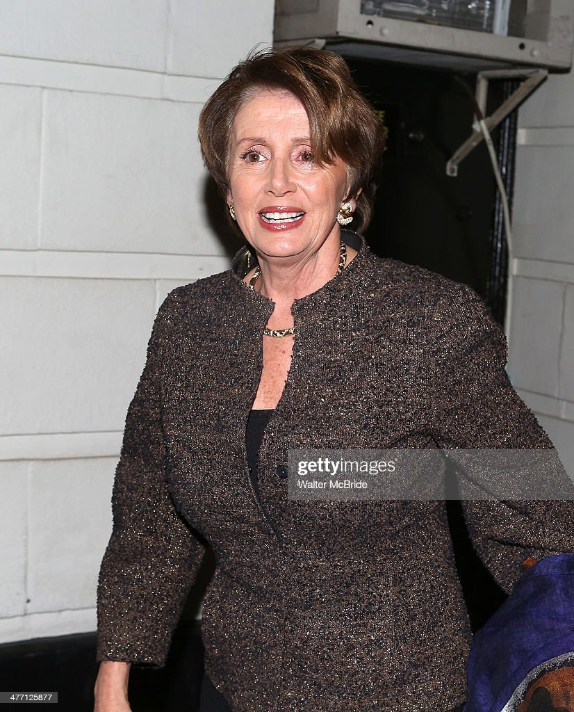 <a gi-track='captionPersonalityLinkClicked' href=/galleries/search?phrase=Nancy+Pelosi&family=editorial&specificpeople=169883 ng-click='$event.stopPropagation()'>Nancy Pelosi</a>, attends 'All The Way' opening night at Neil Simon Theatre on March 6, 2014 in New York City.