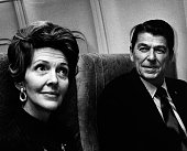 Nancy Reagan and Ronald Reagan sighted on March 10 1974 at the Los Angeles International Airport in Los Angeles California