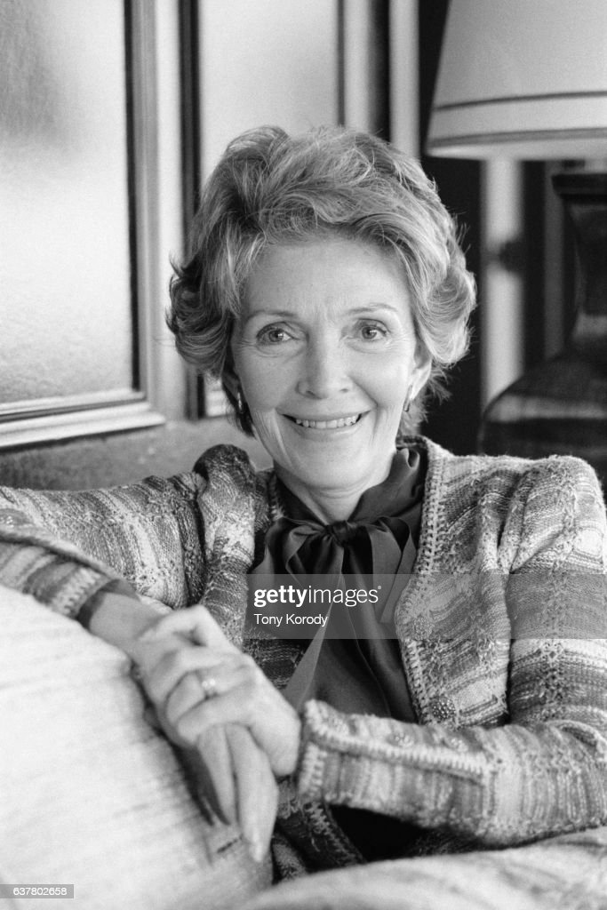 Nancy Reagan Campaigning with Her Husband