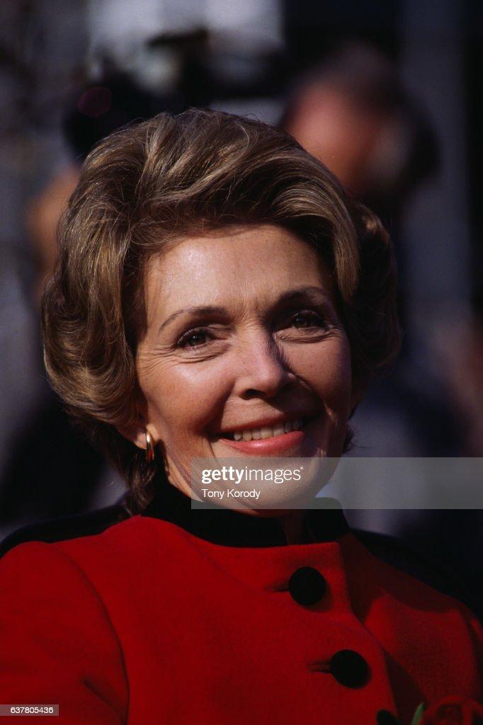 Nancy Reagan During Presidential Campaign of Husband Ronald Reagan