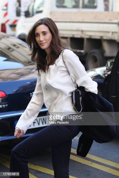 Nancy Shevell is spotted at the 'Le Bristol' hotel on October 3 2011 in Paris France