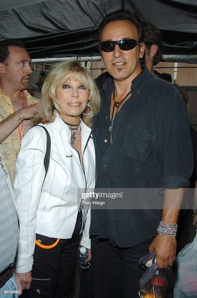 Nancy Sinatra and Bruce Springsteen
