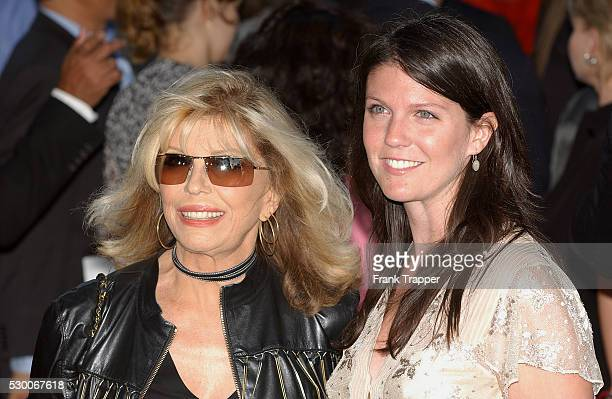 Nancy Sinatra and daughter A J arrive at the premiere of 'The Manchurian Candidate' in Los Angeles
