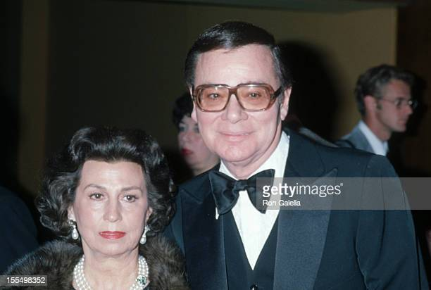 Nancy Sinatra and Ross Hunter during Nancy Sinatra Sr File Photo United States