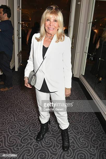 Nancy Sinatra attends an after party following the press night performance of 'Sinatra At The London Palladium' at The Savoy Hotel on July 20 2015 in...
