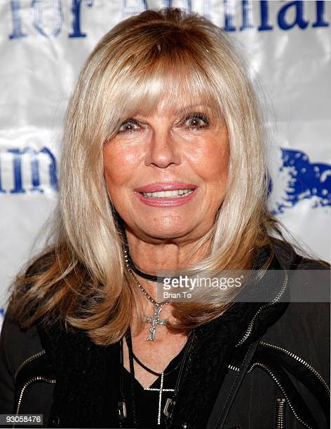 Nancy Sinatra attends 'Celebration Of Caring A Toast To Rowan Martin's LaughIn' at Universal Hilton Hotel on November 14 2009 in Universal City...