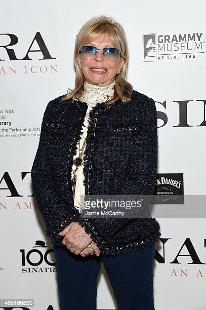 Nancy Sinatra attends Jack Daniel's Sinatra Select celebration of the Grammy Museum's 'Sinatra An American Icon' at The New York Public Library of...