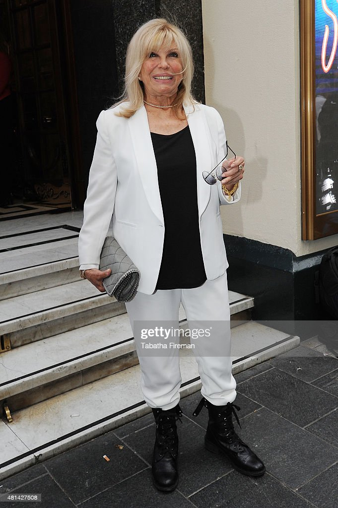 """Sinatra At The London Palladium"" - Press Night - Arrivals"