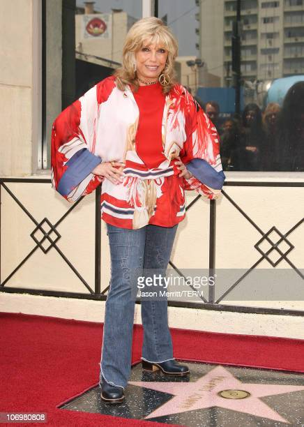 Nancy Sinatra during Nancy Sinatra Recieves A Star On The Hollywood Walk of Fame at The Hollywood Walk of Fame in Hollywood California United States