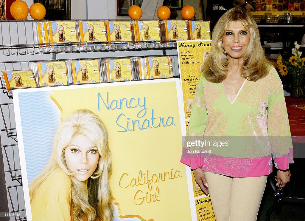 "Nancy Sinatra Sings Songs from New Album ""California Girl"" at Amoeba Hollywood"