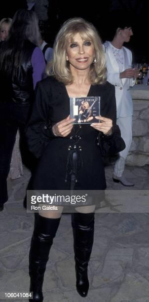 Nancy Sinatra during Playboy Magazine Party for Nancy Sinatra Jr at Playboy Manshion in Hollywood Hills California United States