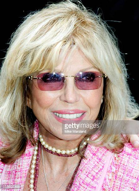 Nancy Sinatra during The Q Awards 2004 Arrivals at Grosvenor House Hotel in London Great Britain