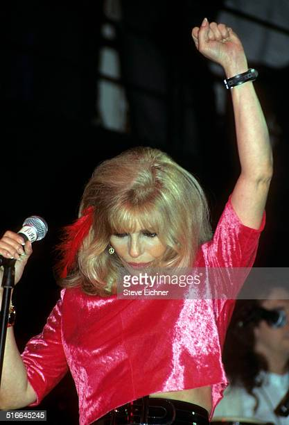 Nancy Sinatra performs at Limelight Club New York May 10 1995