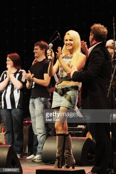 Nancy Sorrell and Sean Ruane perform at the Teenage Cancer Trust Bandstand 2007 at The Sage September 22 2007 in Gateshead England