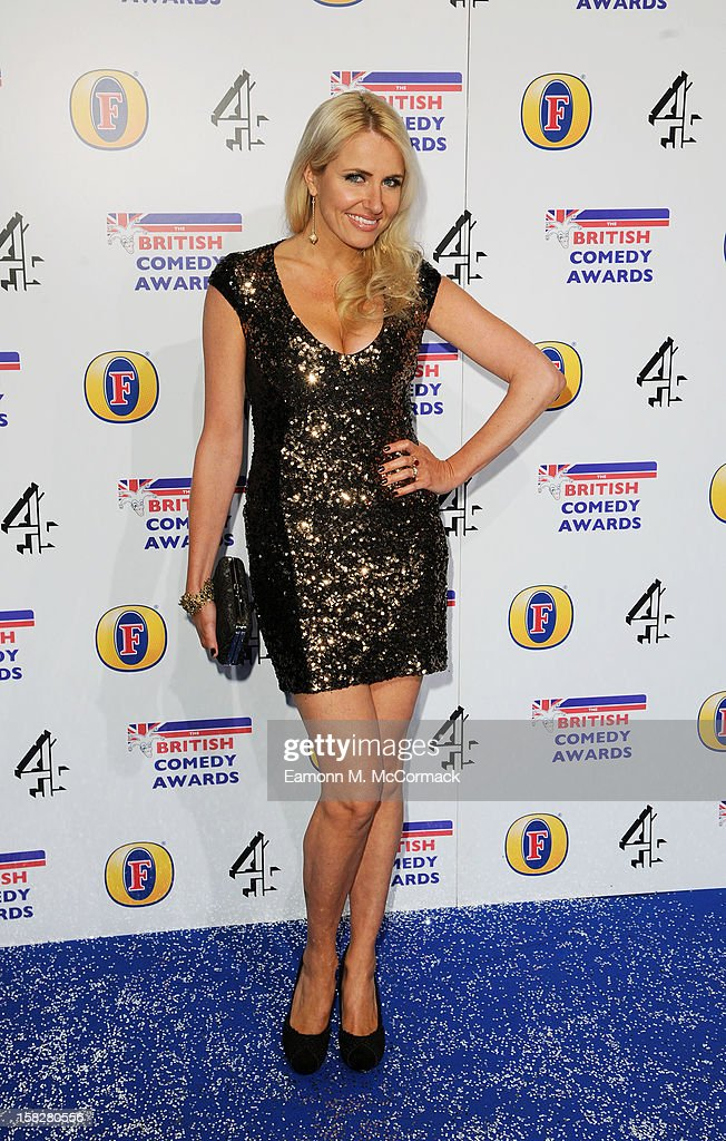 Nancy Sorrell attends the British Comedy Awards at Fountain Studios on December 12, 2012 in London, England.