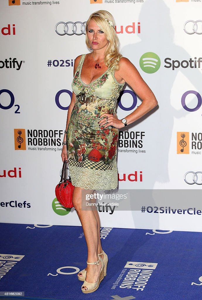 Nancy Sorrell attends the Nordoff Robbins 02 Silver Clef awards at London Hilton on July 4, 2014 in London, England.