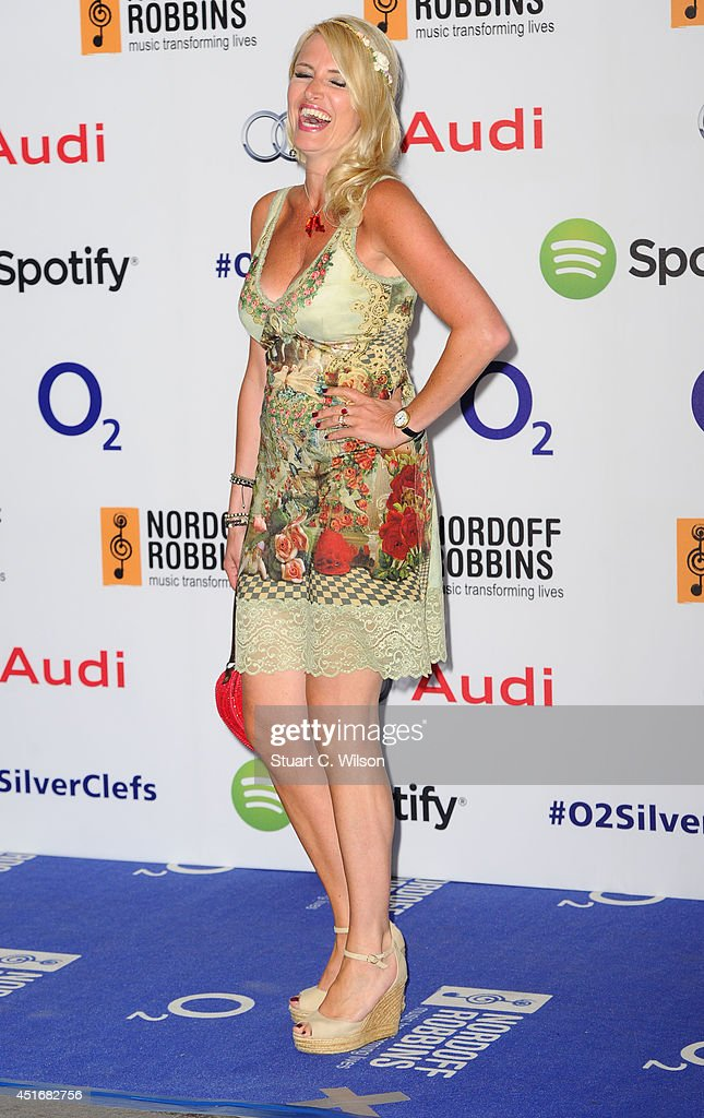 <a gi-track='captionPersonalityLinkClicked' href=/galleries/search?phrase=Nancy+Sorrell&family=editorial&specificpeople=206193 ng-click='$event.stopPropagation()'>Nancy Sorrell</a> attends the Nordoff Robbins 02 Silver Clef awards at London Hilton on July 4, 2014 in London, England.