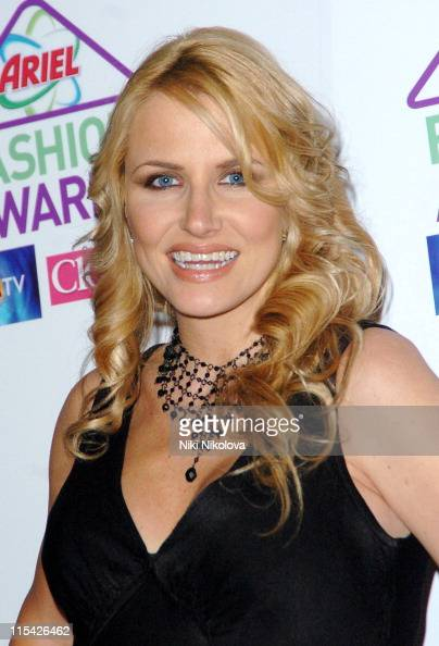 Nancy Sorrell during 1st Annual Ariel High Street Fashion Awards at Natural History Museum in London Great Britain