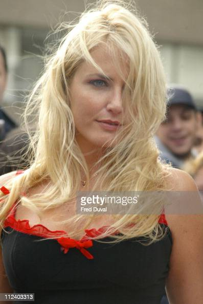 Nancy Sorrell during 2004 Celebrity Awards at London Television Centre in London England Great Britain