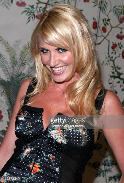 Nancy Sorrell during 2005 UK FiFi Awards Inside Arrivals at The Dorchester in London Great Britain