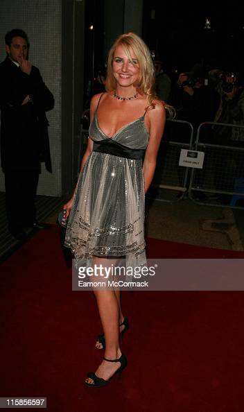 Nancy Sorrell during An Audience with Take That Arrivals at The London Television Centre in London Great Britain