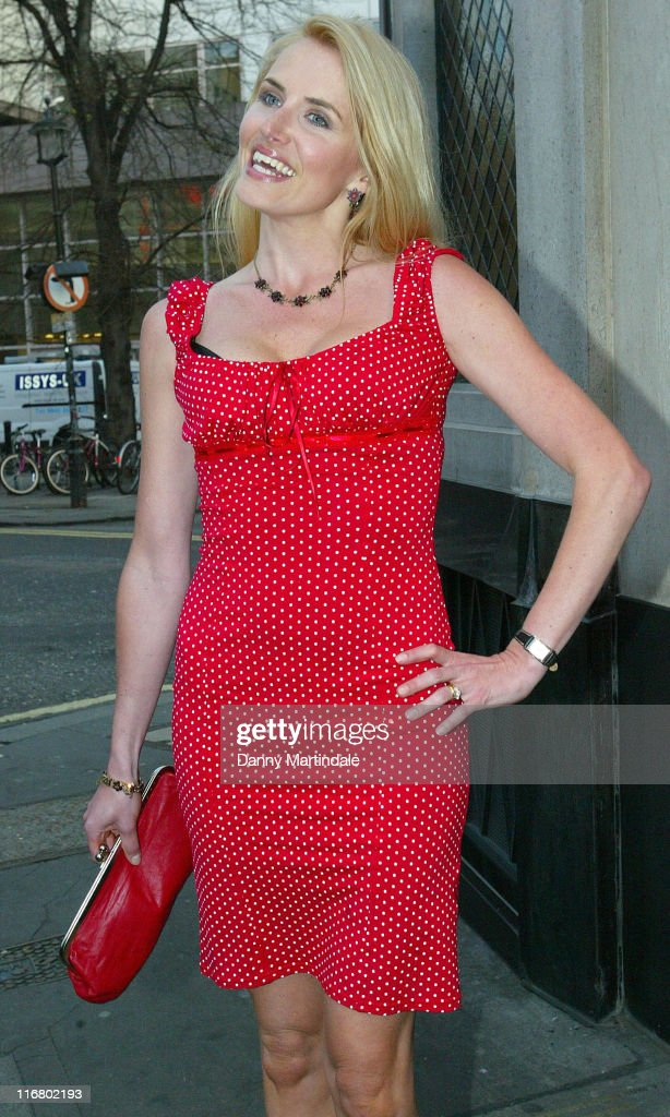 Nancy Sorrell during Jacqueline Gold Book Launch Party Outside Arrivals at The Ivy in London United Kingdom