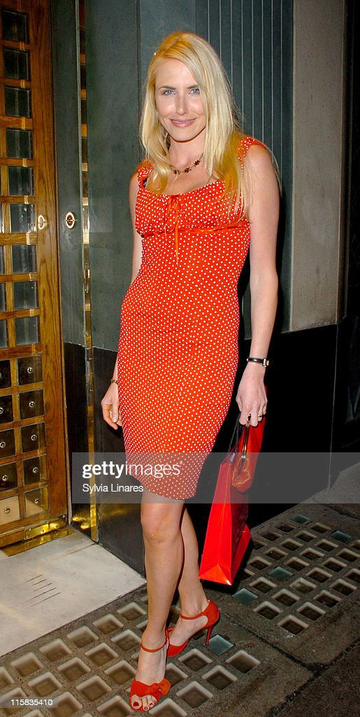 Nancy Sorrell during Jacqueline Gold's 'A Woman's Courage' Book Launch Party at The Ivy in London Great Britain