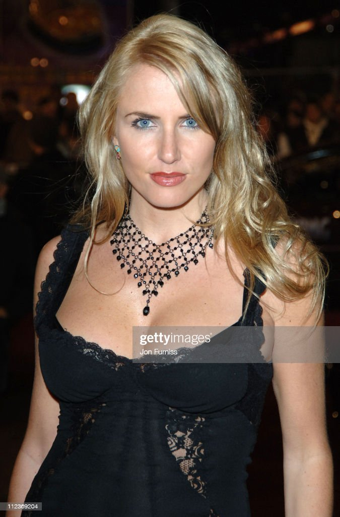 Nancy Sorrell during 'King Kong' London Premiere Inside Arrivals at Odeon Leicester Square in London Great Britain