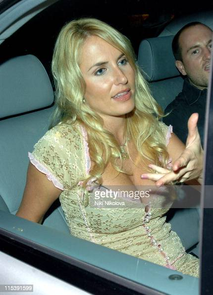 Nancy Sorrell during Reveal Magazine 1st Birthday Arrivals at Living Room Heddon in London Great Britain