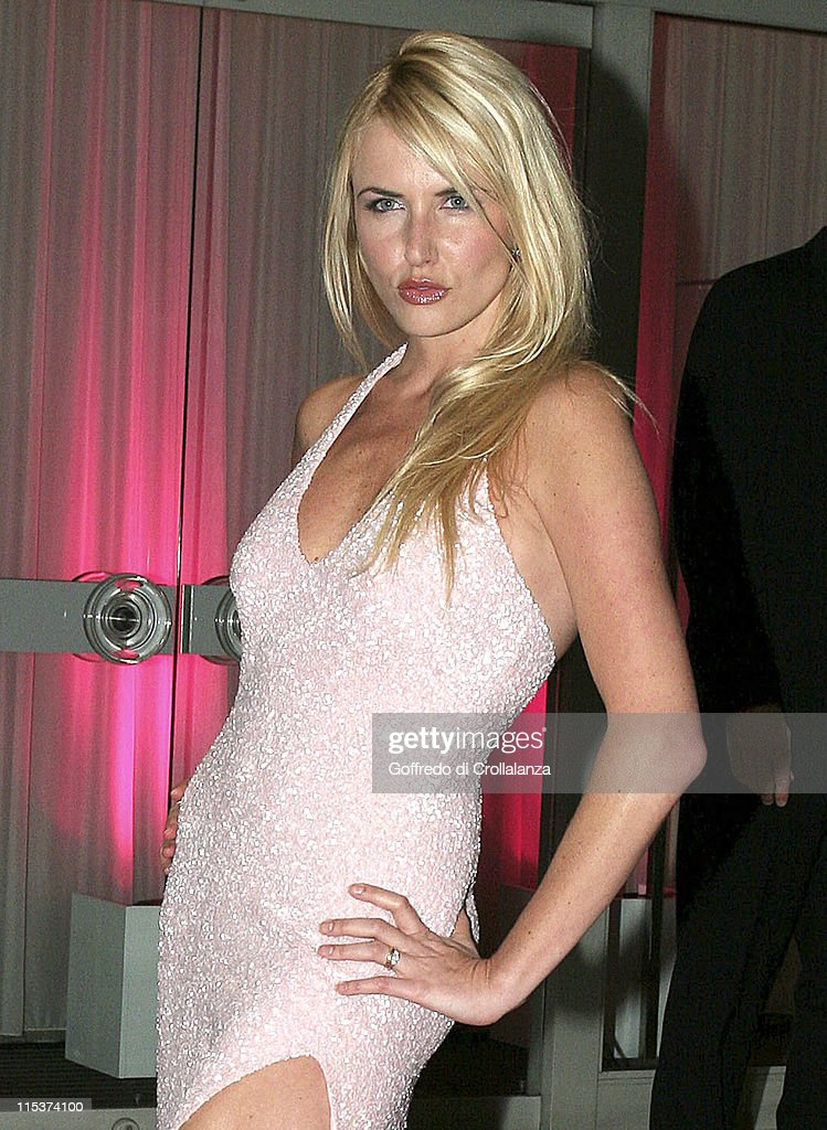 Nancy Sorrell during The LaurentPerrier Pink Party Arrivals at Sanderson Hotel in London Great Britain