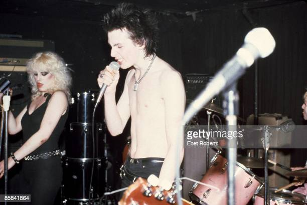 Nancy Spungen and Sid Vicious live at Max's Kansas City New York on 7th September 1978