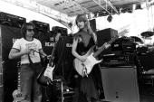 Nancy Wilson of Heart at The Oakland Coliseum in 1977 in Oakland California