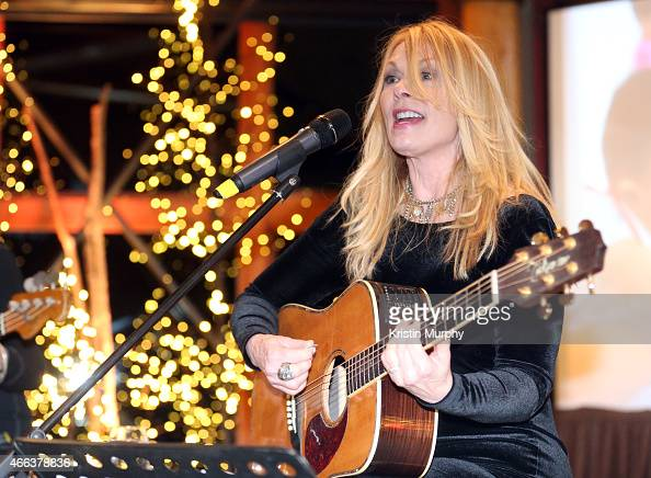 Nancy Wilson of Heart attends Operation Smile's 4th Annual Celebrity Ski Smile Challenge VIP Dinner on March 14 2015 in Park City Utah