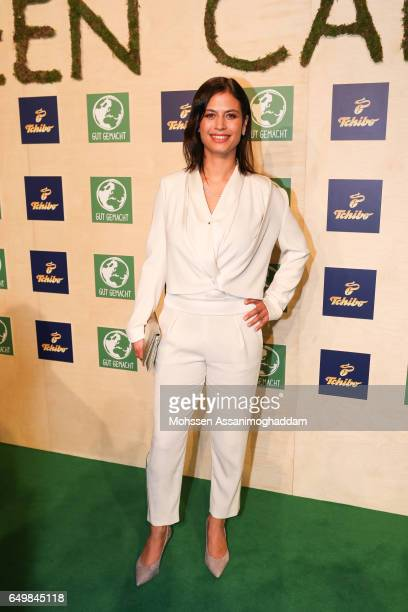 Nanda Bergstein attends the Green Carpet Event of Tchibo on March 8 2017 in Hamburg Germany