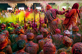 Nandgaon holi festival, India