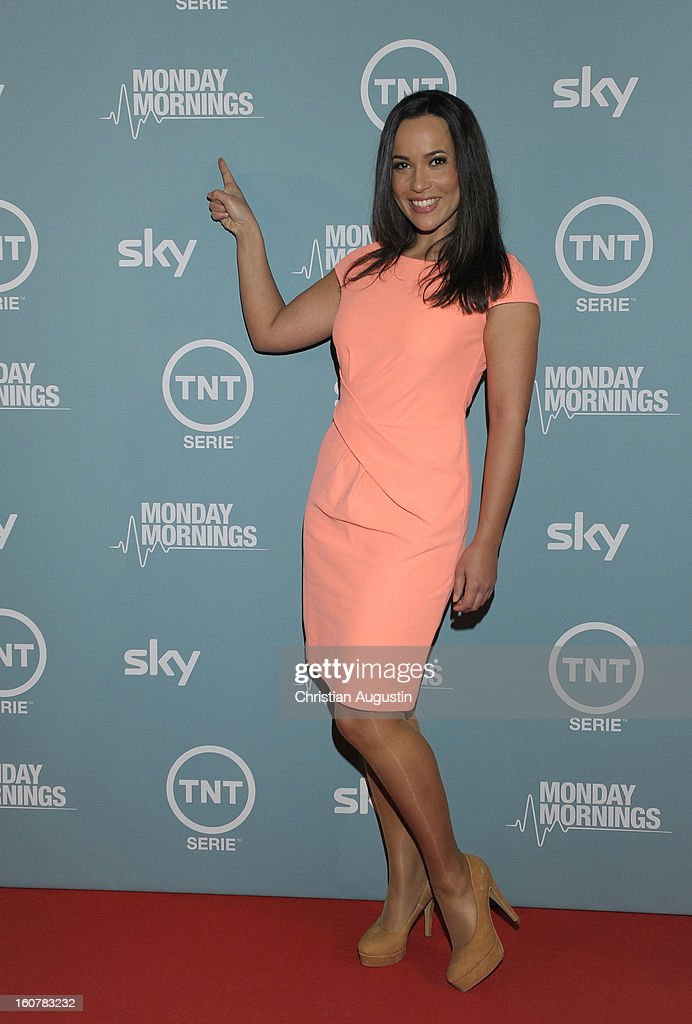 Nandini Mitra attends the 'Monday Mornings' Preview Event of TNT Serie at East Hotel on February 5th, 2013 in Hamburg, Germany. The series premieres on February 7th (every Thursday at 8:15 pm on TNT Serie).