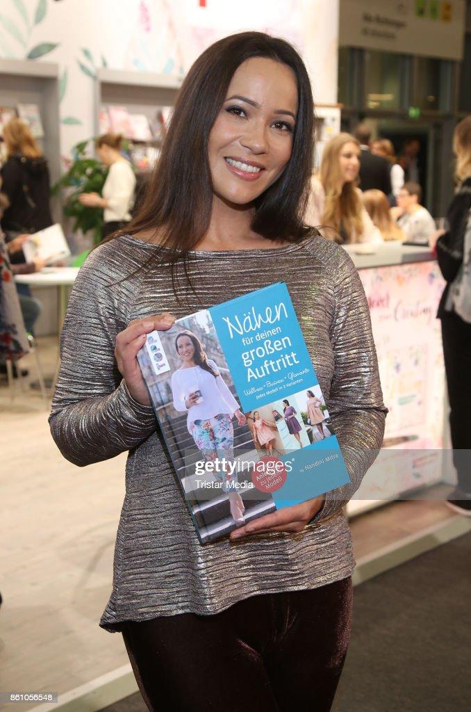 Nandini Mitra Book Launch 'Naehen Fuer Deinen Grossen Auftritt' In Frankfurt