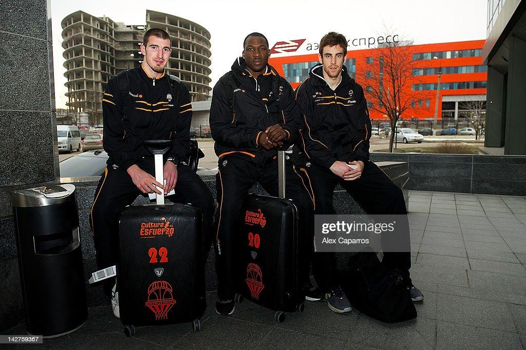 Valencia Basket Arrivals - EuroCup Basketball
