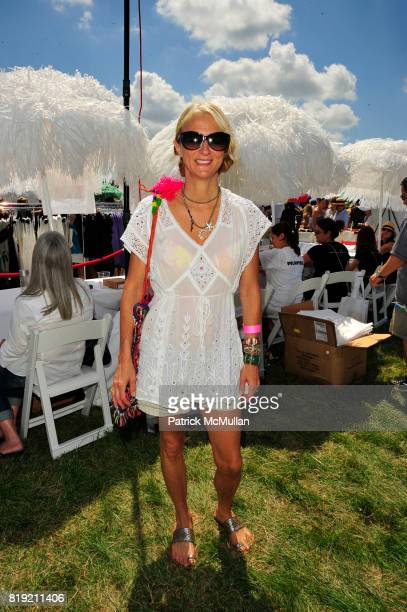Nanette Lepore attends Donna Karan Ariel Foxman InStyle Along With Kelly Ripa Ashley Greene Present Super Saturday 13 at Nova's Ark Project on July...