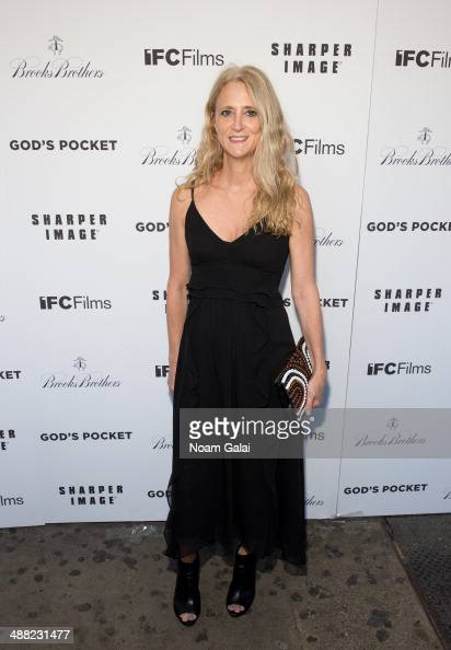 Nanette Lepore attends 'God's Pocket' screening at IFC Center on May 4 2014 in New York City