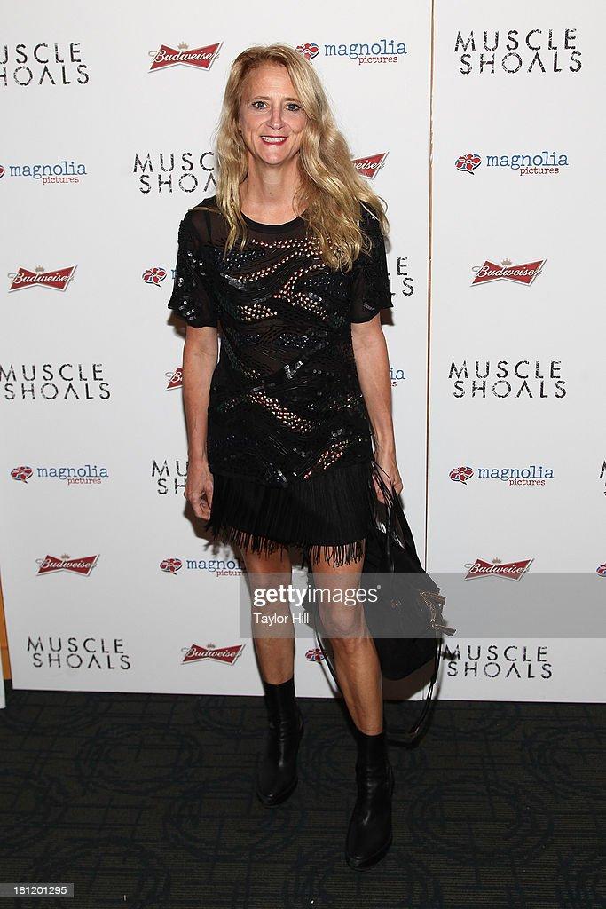 Nanette Lepore attends the 'Muscle Shoals' New York screening at Landmark Sunshine Cinemas on September 19, 2013 in New York City.