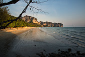 Ao Nang is a central point of the coastal province of Krabi, Thailand. The town consists chiefly of a main street, which is dominated by restaurants, pubs, shops and other commerce aimed at tourists.