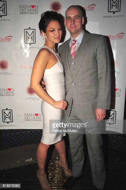 Nani Ahn and Rich Hedge attend The Launch of the New MODELSHOTEL Benefiting FASHION DELIVER'S HOPE to Haiti Relief Efforts at Juliet on February 8th...