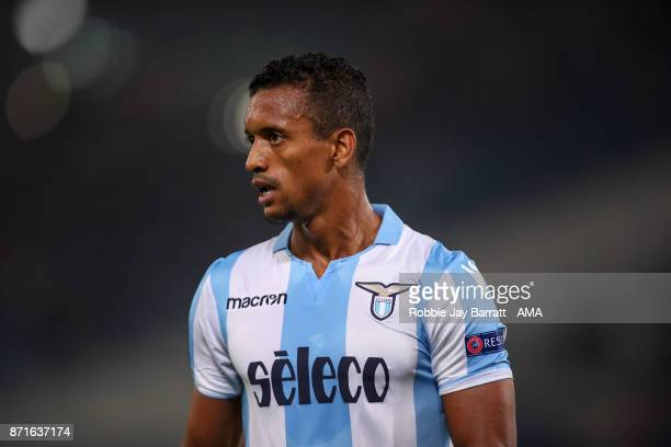 Nani of Lazio during the UEFA Europa League group K match between Lazio Roma and OGC Nice at Stadio Olimpico on November 2 2017 in Rome Italy