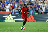 Nani of Portugal during the UEFA Euro 2016 Final match between Portugal and France at Stade de France on July 10 2016 in SaintDenis France