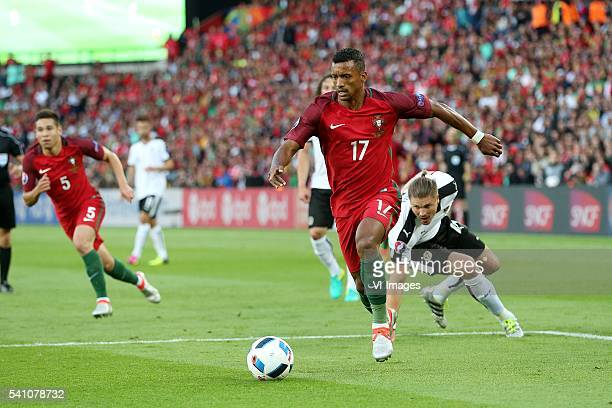 Nani of Portugal during the UEFA EURO 2016 Group F group stage match between Portugal and Austria at the Stade Parc de Princes on june 18 2016 in...