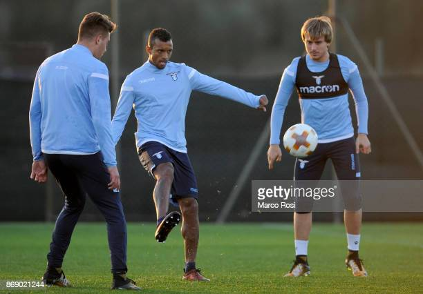 Nani of SS Lazio during the SS Lazio training session on October 31 2017 in Rome Italy