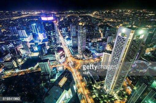 Nanjing cityscape, China
