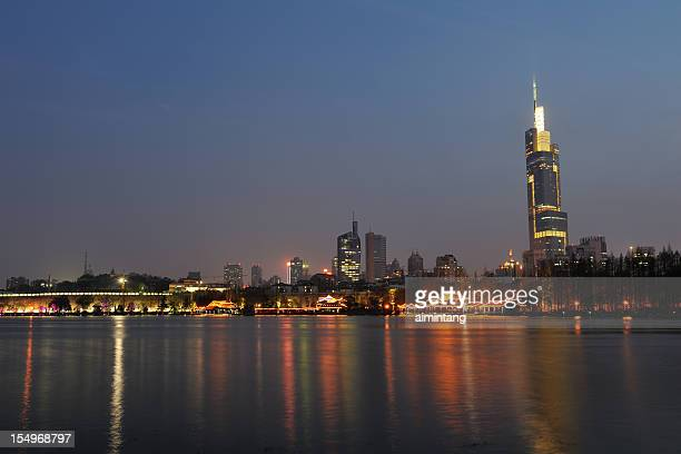 Nanjing Skyline at Night