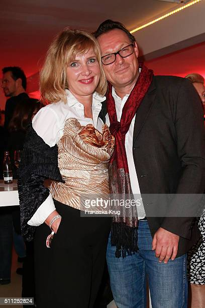 Nanna Kuckuck and Dirk Ullmann attend the 99FireFilmAward 2016 at Admiralspalast on February 18 2016 in Berlin Germany